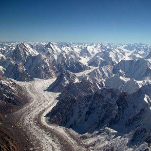 Glaciar de Baltoro.