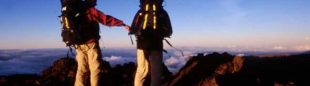 Amanecer en la cima del Pitón des Neiges e 3.69mts...