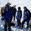 Práctica de búsqueda de víctimas de avalanchas