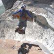 Toma aérea del despegue...Foto: Col. V. Rozov/mountain.ru...  (desnivel)