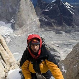 Valery Rozov durante la ascensión a la Torre Central del Paine