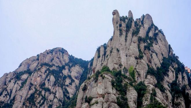 Montaña de Montserrat.