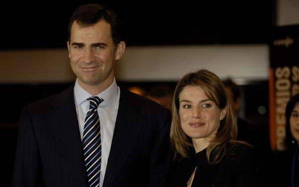 Sus Altezas Reales los Principes de Asturias