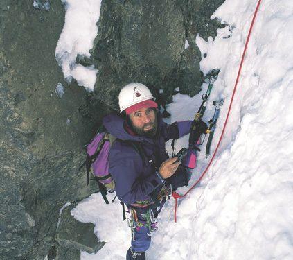 César Pérez de Tudela en el Pirineo Central.