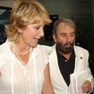 César Pérez junto a Esperanza Aguirre.Foto: Sergio Prieto...  (desnivel)