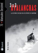 3 x 3 Avalanchas. La gestión del riesgo en los deportes de invierno por Werner Munter. Ediciones Desnivel