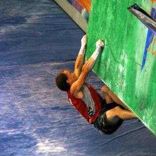 El suizo Cédric Lachat cuajó una excelente actuación en las semifinales.Foto: J.Jiménez/D...  (desnivel)