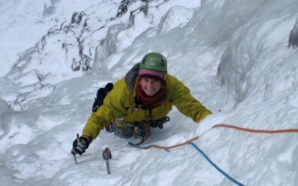 Vanessa Addison en Alpes. (Colección Vanessa Addison/Equipo Femenino de Alpinismo.)