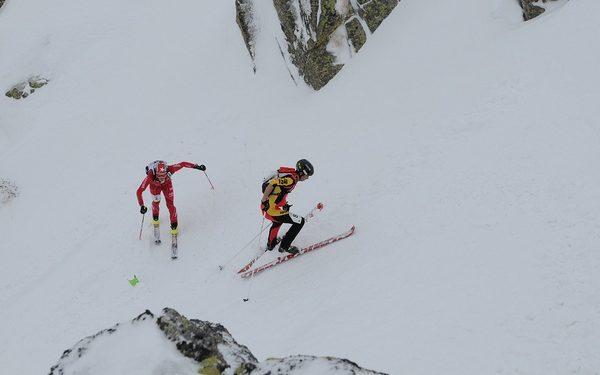 Kilian Jornet y Florent Troillet en la prueba individual de los Campaonetos del Mundo de Esquí de Montaña  (Philippe Mounet)