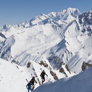 Último tramo de ascensión al Mont Coin  (Jocelyn Chavy)