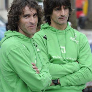 Carlos García y Patxi Arocena en el Campeonato  (Darío Rodríguez)