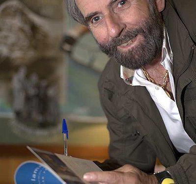 Eduardo Aguilar con César Pérez de Tudela
