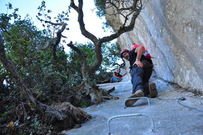 La ferrata de La Hermida tiene 700 metros de desnivel  ()