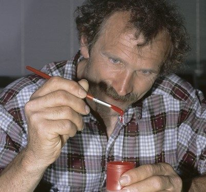 Kurt Albert el inventor del rotpunkt  (Darío Rodríguez)