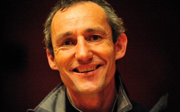 El alpinista vasco Mikel Zabalza  ()