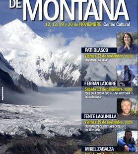 Cartel de las jornadas de montaña de Moralzarzal  ()