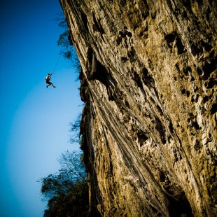 Ethan Pringle en Spicy dumpling 9a en China  (Lee Cujes)