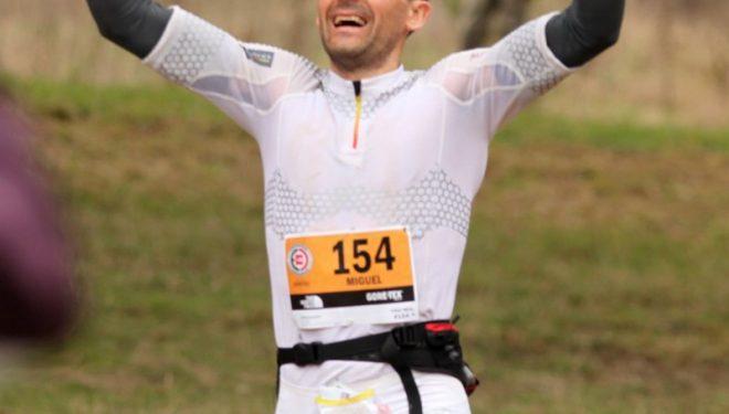 Miguel Heras tras su victoria en San Francisco  (Salomon)