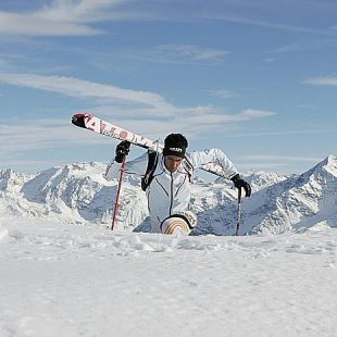Kilian Jornet durante la Kilians Quest del Monte Olympus. Grecia