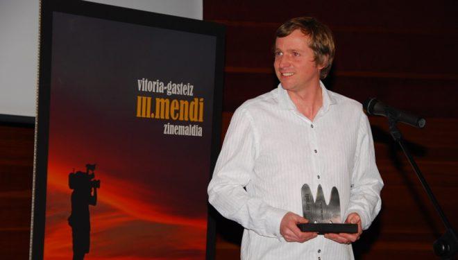 """Paul Dieffley premiado por su película """"The Pinnacle""""  (M.F.F.)"""