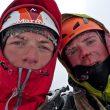 Will Sim y Jon Griffith  (Jon Griffith / Alpine Exposures)