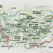 Mapa detallado del Parque Nacional de Picos de Europa (Darío Rodríguez/Desnivel Press)