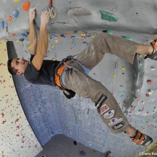 Ramón Julián Ramoneten la inauguración de Climbat Aman (Jordania)  (Darío Rodríguez/Desnivelpress)