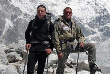 Boris Dedechko y Denis Urubko  ()