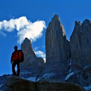 Pedro Cifuentes y las Torres del Paine  (Col. Pedro Cifuentes)