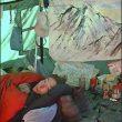 Estudio improvisado en el valle de Langtang  (Col. Andy Parkin)