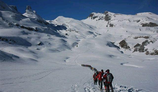 V Día del Raquetista. Ascensión al Pico Cuyalaret.