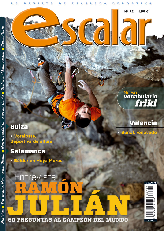 Portada revista Escalar nº72 (enero/febrero 2011) en alta  ()