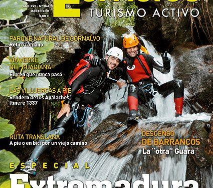 Portada de la revista Grandes Espacios nº164 (marzo 2011) en alta  ()