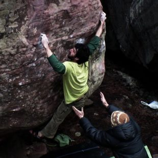 Jorge Tost. Esperanza (Sit) 8B Albarracín  (Randulfe)