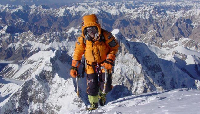 La alpinista y miembro del jurado Edurne Pasabán  ()