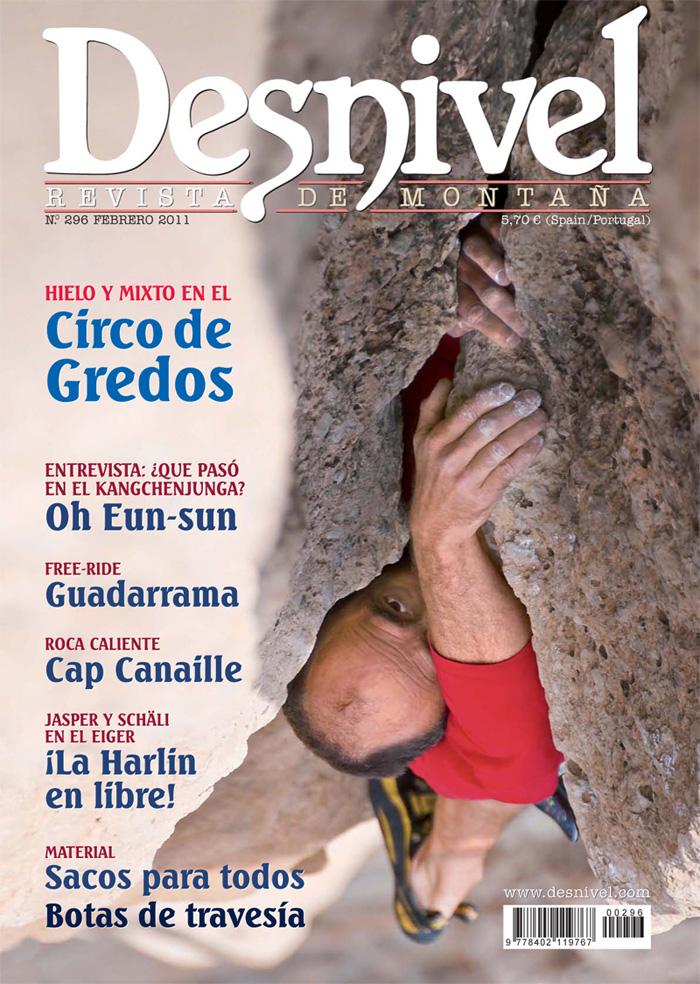 Portada revista Desnivel nº296 (febrero 2011) en alta  ()