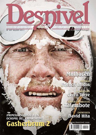 Portada revista Desnivel 297 (marzo 2011) en alta  ()