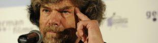 """Reinhold Messner en la presentación de la película """"Nanga Parbat"""" en la XII Edición del Festival de Cine Alemán de Madrid en Junio 2010"""