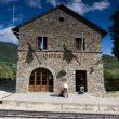 La entrañable estación de Queralbs  (Víctor Riverola)