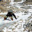 Luis en un complicado largo por encima de 6000 metros. Gasherbrum 1 invernal. ABC Team  ((c) Alex Txikon/ABC Team)