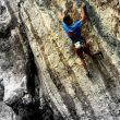 Rémy Bergasse en Steppe de pierres 9a  (Nicolas)