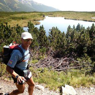 Salva Calvo corriendo la Altos Tatras en Eslovaquia y Polonia  (salvacalvo.blogspot)