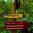 Señales de información de PR y Camino Natural en la ruta del Cañón del Ebro.  (Juan Carlos Muñoz)