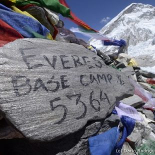 Campo base del Everest.