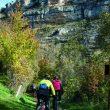 Tramo ciclable de la ruta para visitar el Cañón del Ebro.  (Javier R. Vázquez de Aldana)