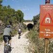 Túnel sin iluminación en la Vía del Zafán  (Fundación Ferrocarriles Españoles)