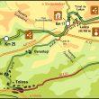 Plano de la Vía Verde del Plazaola.  (Grandes Espacios)
