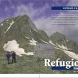 Apertura del reportaje de Grandes Espacios del mes de junio dedicado a los refugios metálicos del Pirineo catalán.  ()