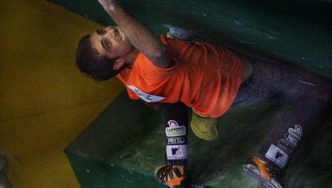 Bruno Macías. Campeonato de España de Búlder 2011  (David Munilla)