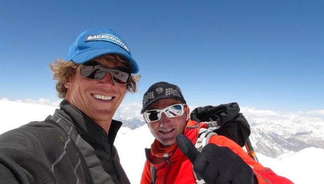 Don Bowie y Ueli Steck